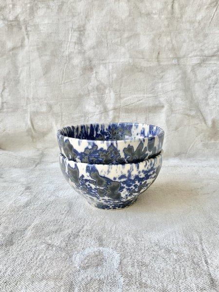 Melissa Koenig Ceramics Bowl Duo - Sky blue