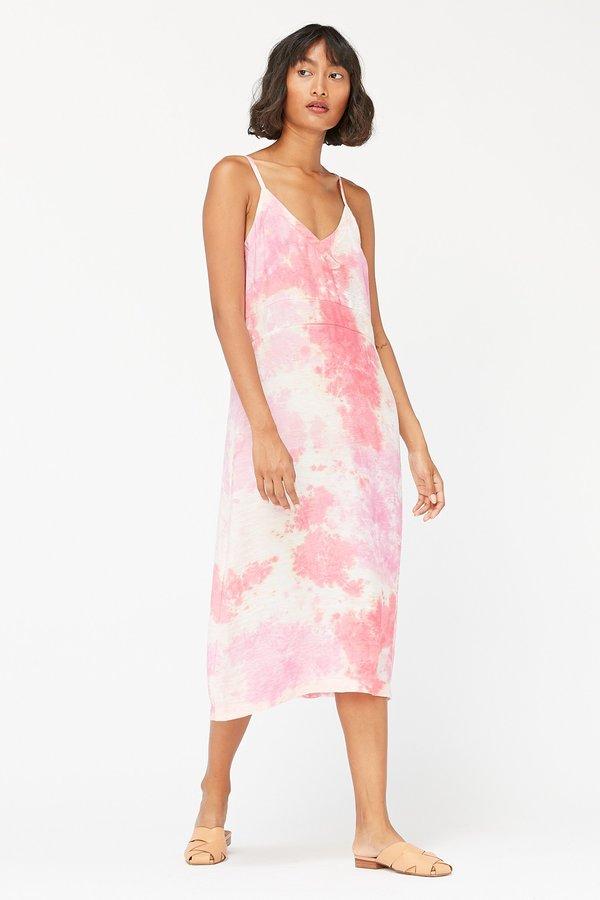 Lacausa Alma Slip Dress - Raspberry Wash