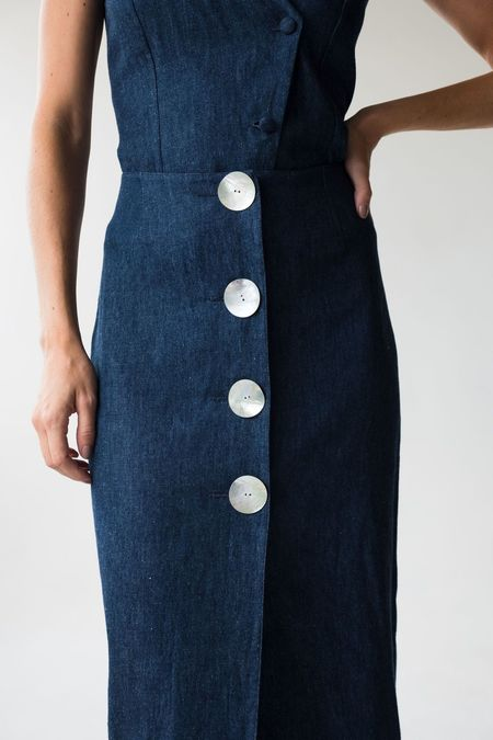 Norte Canelas Skirt - DENIM