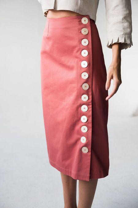 Norte Estelas Skirt - Pink
