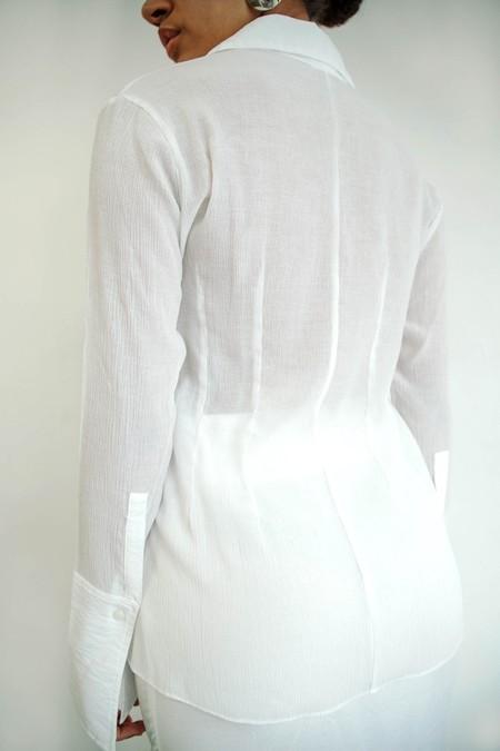 Line by K Leomie Shirt - White