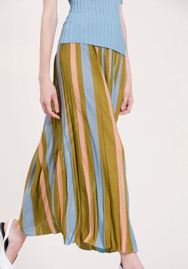 Demylee Striped Skirt