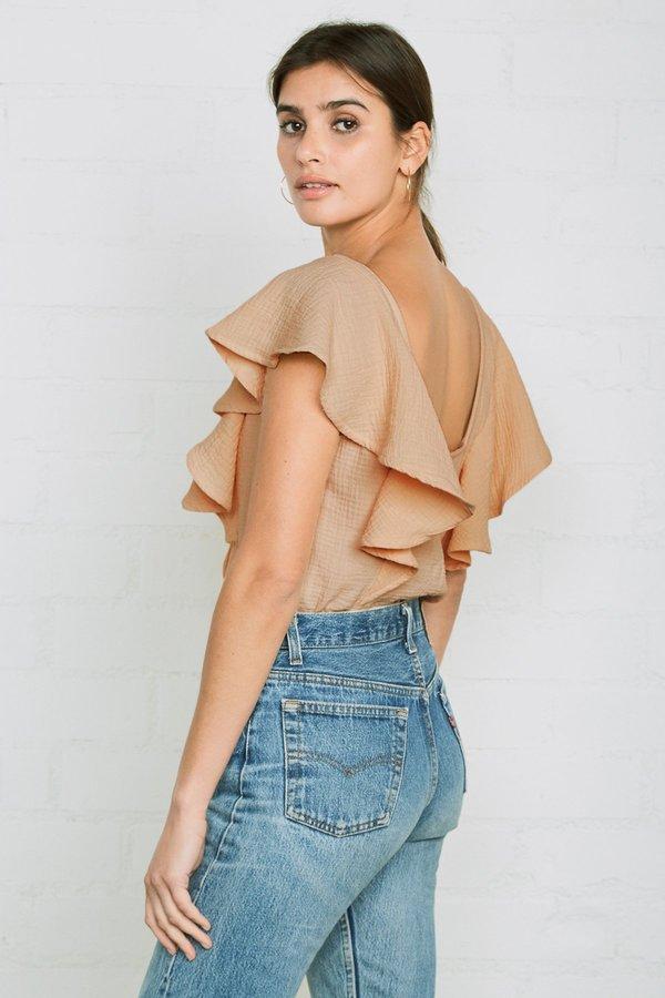 Rachel Pally Gauze Kit Top