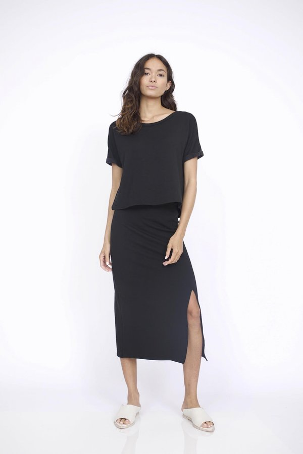 Corinne Collection Maddie T Shirt - Black