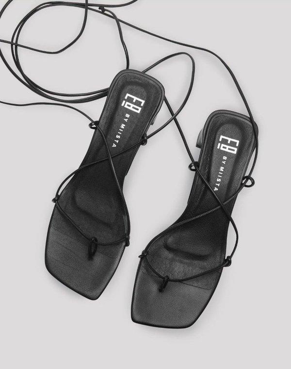 Miista Emere Sandal - Black