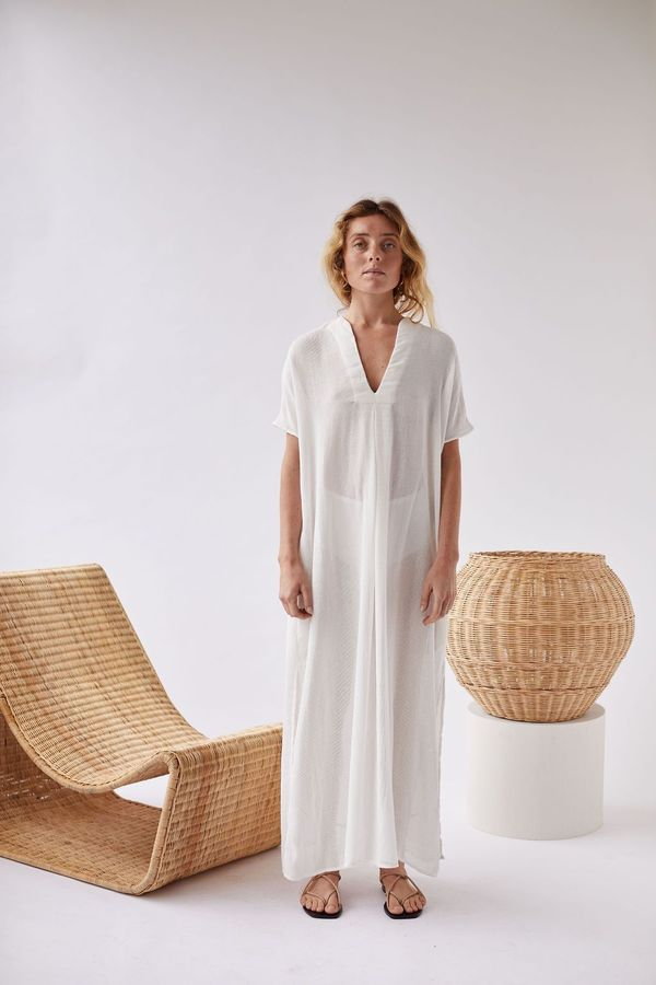 Worn The Maxi Kaftan Dress