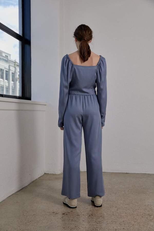 OVNA OVICH Eleanor Pant - Smokey Blue