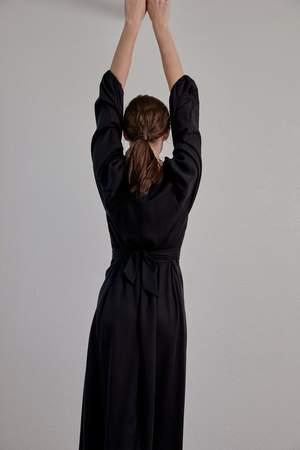 OVNA OVICH Isadora Dress - Onyx