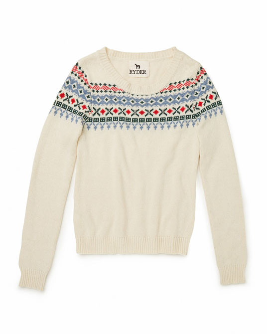 Ryder Fairisle Jumper