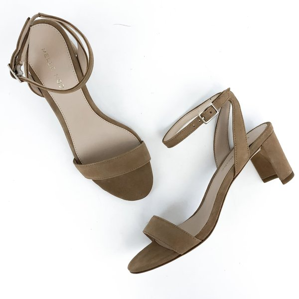 Pattino Shoe Boutique Pelle Moda Block Heel