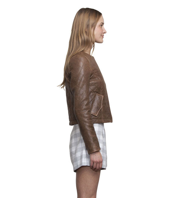 Ryder Quilted Leather Jacket