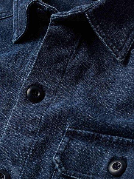 Taylor Stitch The Shop Shirt - Indigo Boss Duck