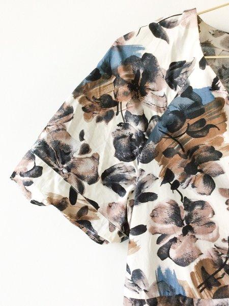 [pre-loved] Marni Floral Dress - beige floral