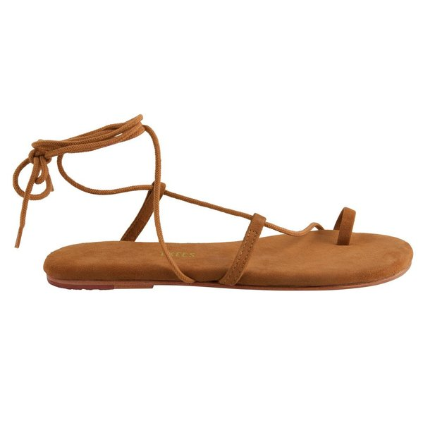 TKEES 'Jo' Lace Up Sandal - Brown