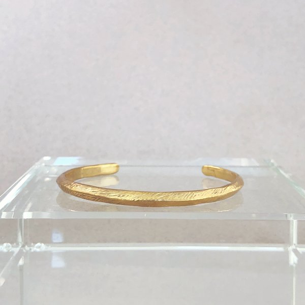 Mercurial NYC Ridge Cuff - 14k gold plate