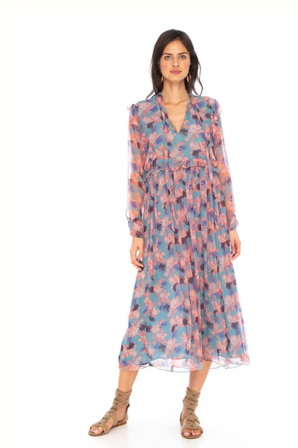 Caballero Sienna Dress - Protea Dusk