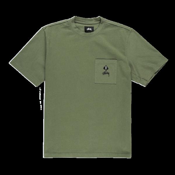Stussy Spade T Shirt - Olive