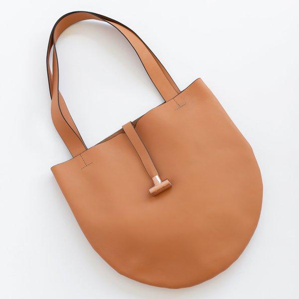 Gag Bag Circular Tote - Peach