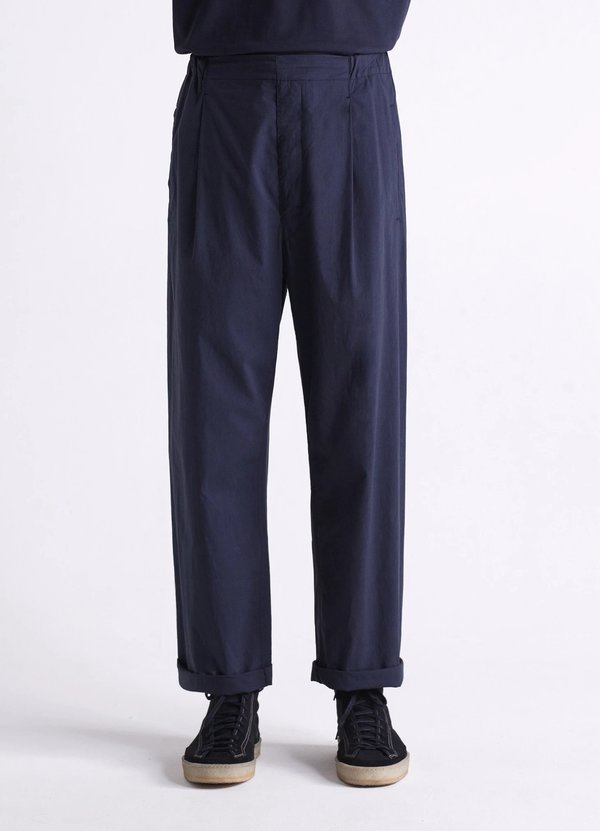 Lemaire Pleated drawstrings pants - carbon
