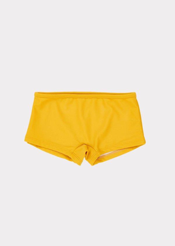 Kids Caramel Serpentine Swim Short - Camel