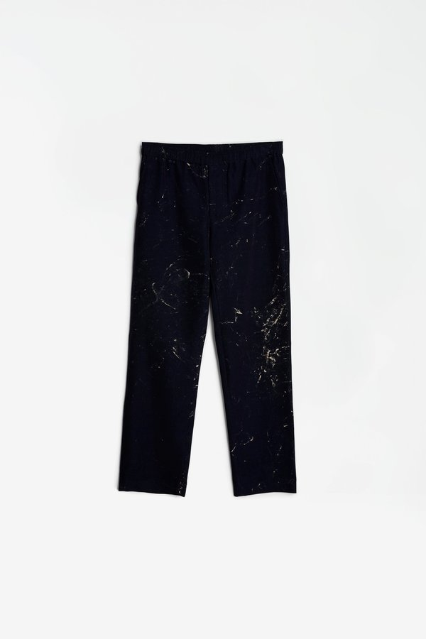 Schnayderman's Trousers hand painted - navy