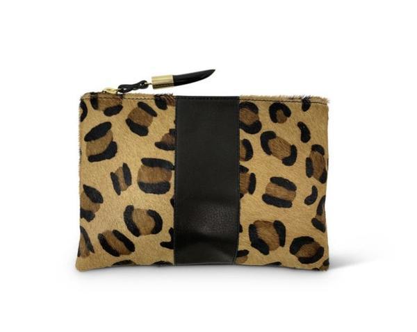 Kempton & Co Small Pouch - Leopard