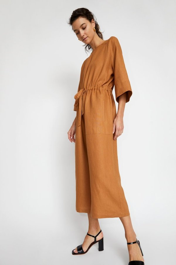 No.6 Linen Ida Jumpsuit