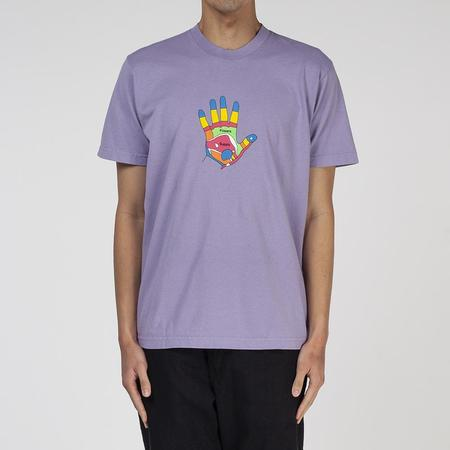 Powers Reflexology T shirt - Light Purple