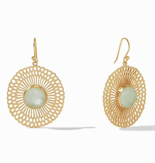 Julie Vos Soleil Earring - 24K gold plate