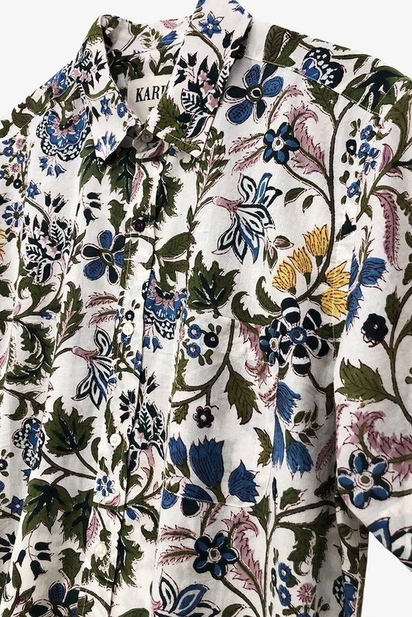 Kardo Sai Floral Shirt - Natural
