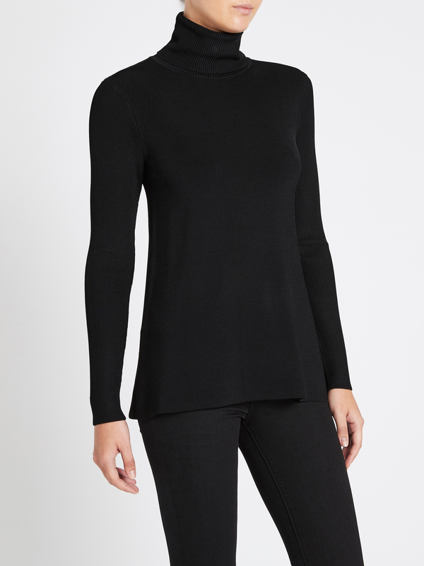 Camilla and Marc Blair Knit Top - Black
