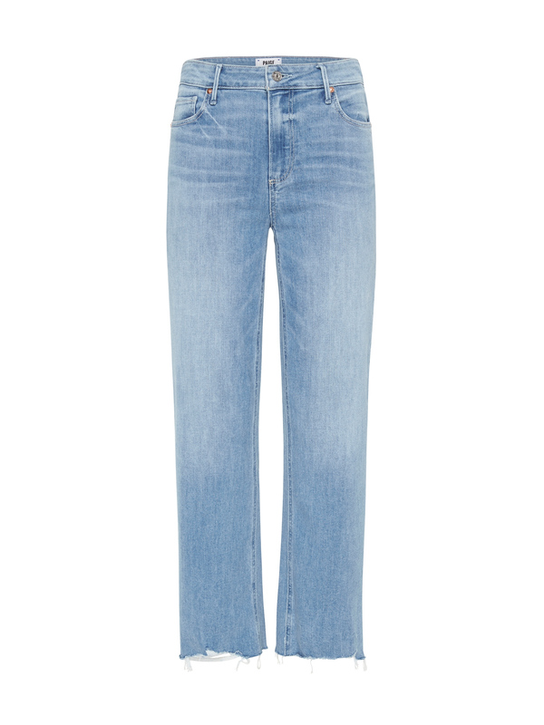 Paige Atley Ankle Flare Jean - Light Denim