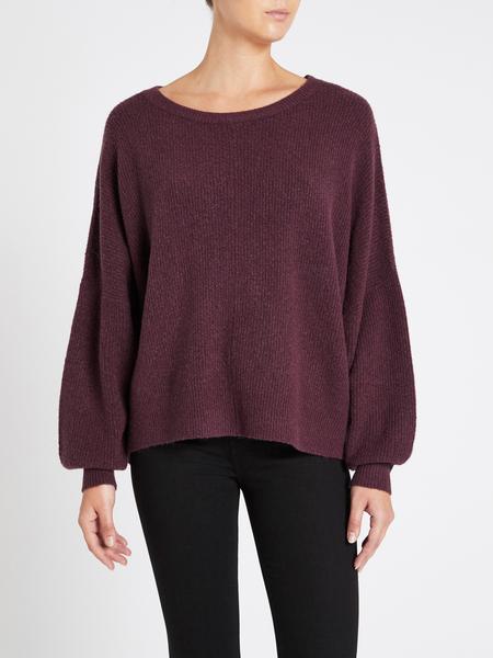 american vintage Wopy Sweater - Purple