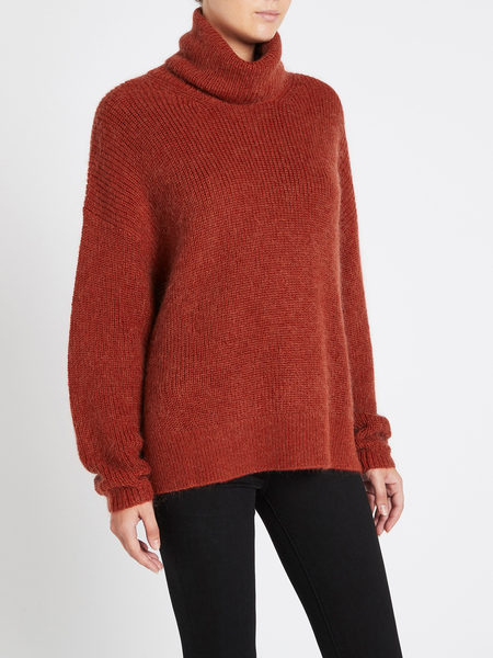 Camilla And Marc Halley Turtleneck - Red