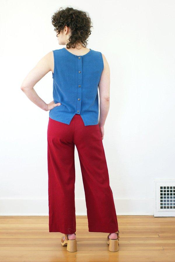 Dagg & Stacey Dustin Shell - Azure Blue