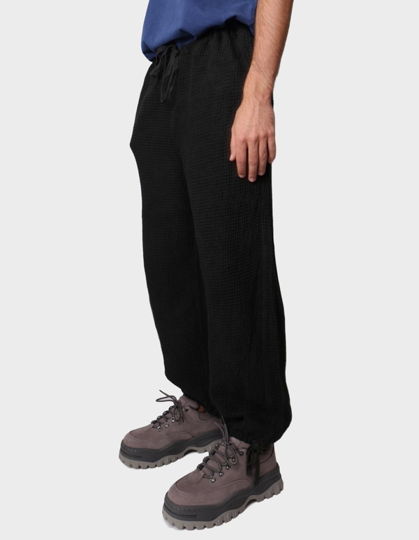 TS(S) Drawstring Wide Pants - Charcoal
