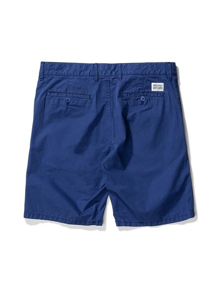 Norse Projects Aros Twill Shorts - Twilight Blue