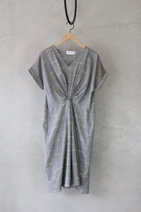 ALOJA Cotton Rujuta Sheth Neptune Dress - Black/White