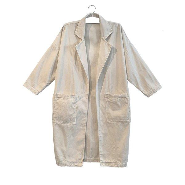 Harlin Patti Canvas Easy Jacket - Natural