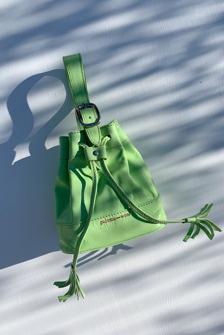 PALOMA WOOL Maravilla Mini Hand bag - Fluorescent Green
