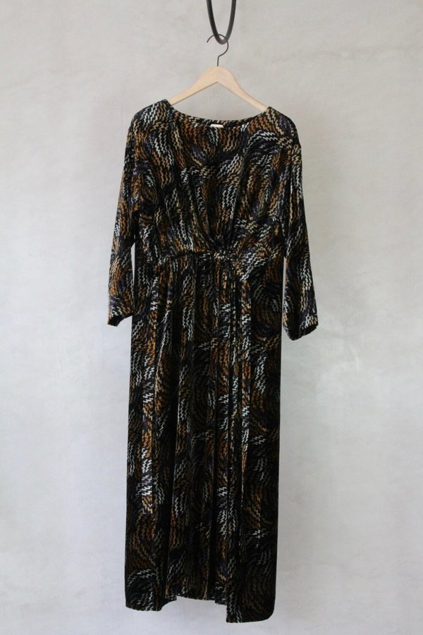 Samuji Erja Dress Salamat - Gray