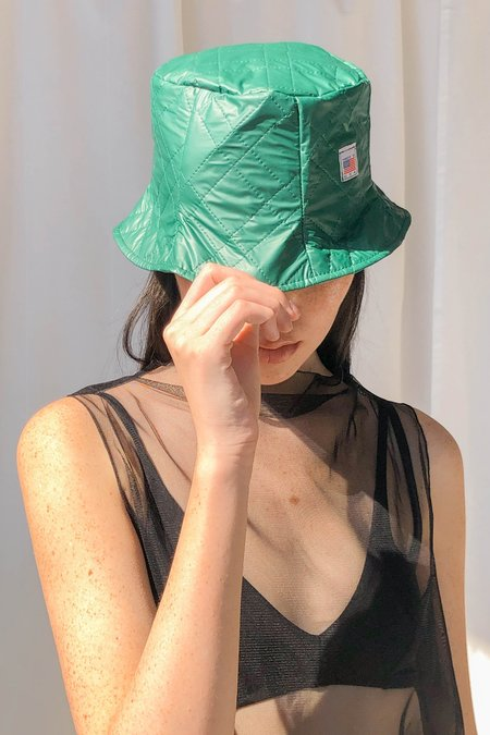 Collect Call Reversible Bucket Hat - Key Lime