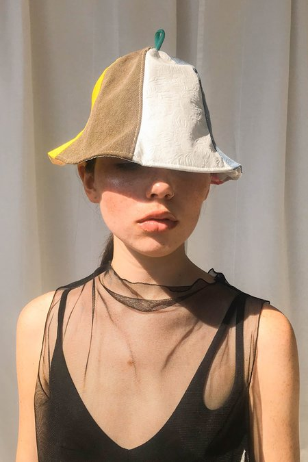 Collect Call Rave Patchwork Bucket Hat
