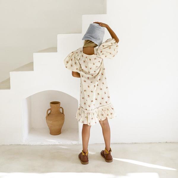 Yoli & Otis Alda Kid's Dress - French Floral