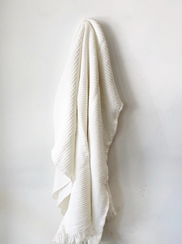 House No.23 Ella Waffle Bath Towel