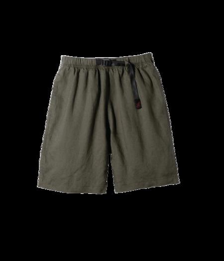 Gramicci Linen Cotton G Shorts - Olive