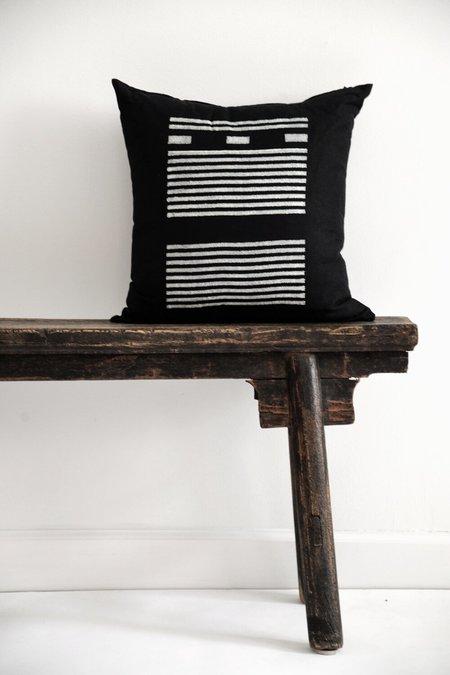 Kesslyr Dean Agnes Block Print Pillow