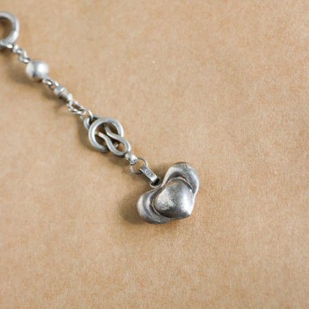 [pre-loved] David Navarro Lariat Chain - sterling silver