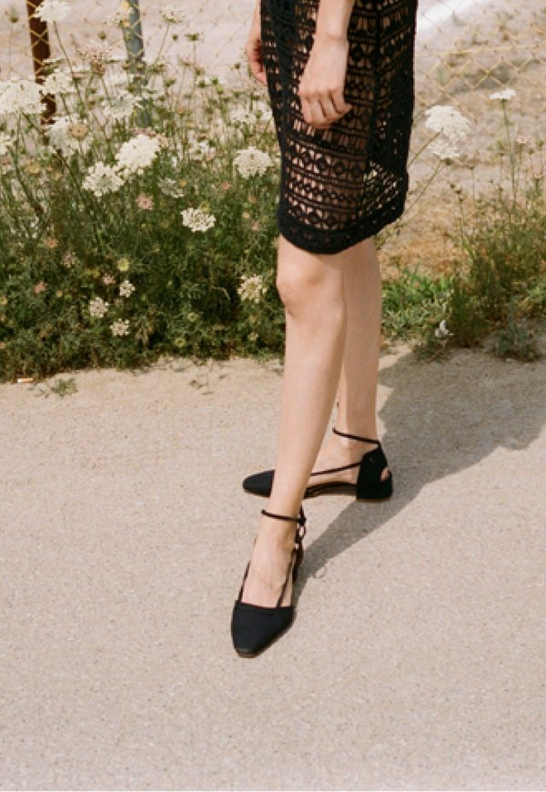 About Arianne Celia Strap Sandals - Black