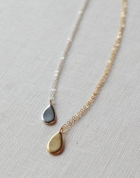 Sarah Safavi Droplet Necklace